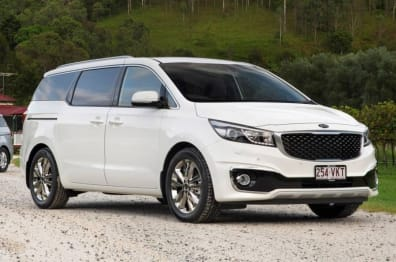 2015 Kia Carnival People mover Platinum (W/O 2ND ROW Heated)