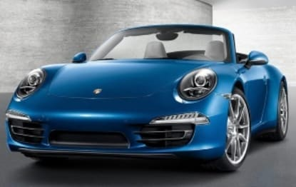 2017 Porsche 911 Convertible Carrera 4