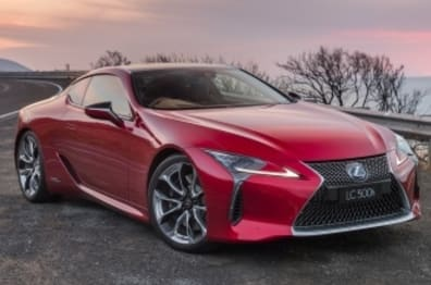 2017 Lexus LC Coupe LC500H V6