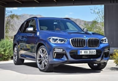 2018 BMW X Models SUV X3 Xdrive 20D