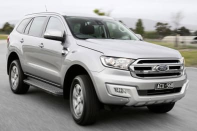 2018 Ford Everest SUV Trend (4WD) (5 YR)