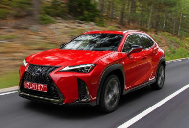2019 Lexus UX SUV UX250H Sports Luxury +EP Hybrid (awd)