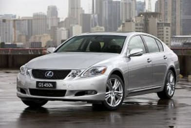 2010 Lexus GS Sedan GS450H Hybrid