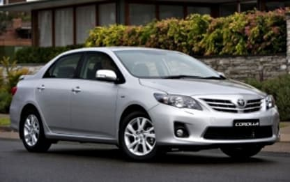 2011 Toyota Corolla Sedan Ascent
