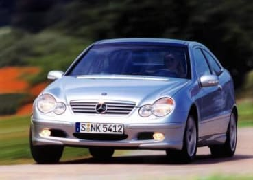 2002 Mercedes-Benz C-Class Coupe C180 Evolution