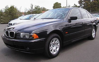 2002 BMW 5 Series Sedan 525i Executive