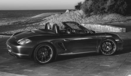 2012 Porsche Boxster Convertible S Black Edition