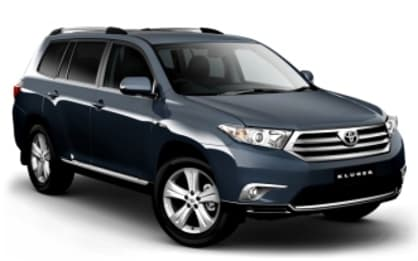 2012 Toyota Kluger SUV Altitude (FWD) 7 Seat