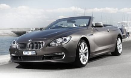 2012 BMW 6 Series Convertible 650i