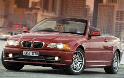 2003 BMW 3 Series Convertible 330ci