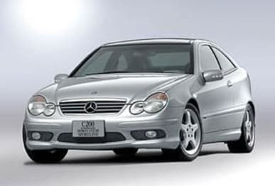 2003 Mercedes-Benz C-Class Coupe C180 Kompressor