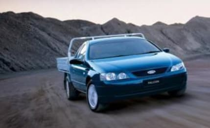 2003 Ford Falcon Ute XL (lpg)