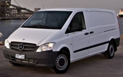 2013 Mercedes-Benz Vito Commercial 110CDI