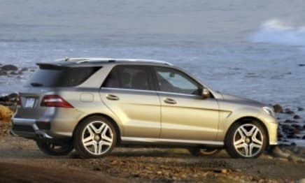 2014 Mercedes-Benz M-Class SUV ML250 CDI Bluetec (4X4)
