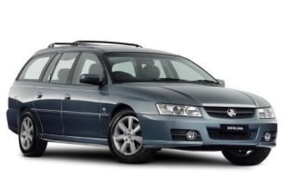 2005 Holden Commodore Wagon Berlina