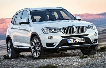 2015 BMW X Models SUV X3 Xdrive 20I