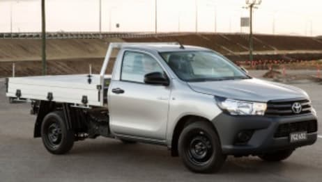 2016 Toyota HiLux Single Cab SR (4X4)