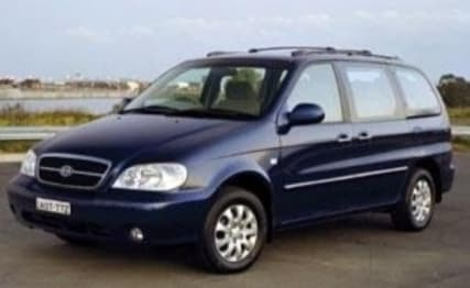 2007 Kia Carnival People mover LS