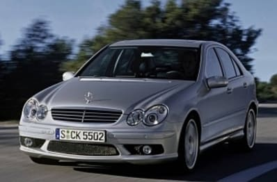 2007 Mercedes-Benz C-Class Sedan C55 AMG