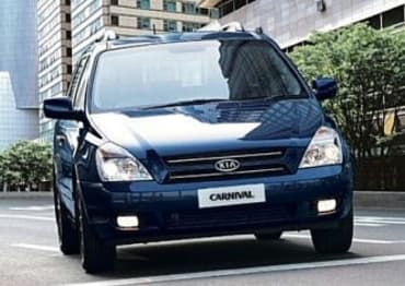 2007 Kia Carnival People mover EX