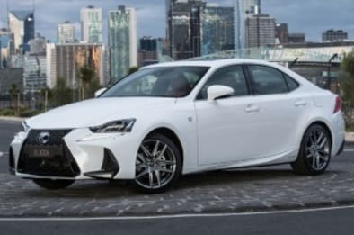 2017 Lexus IS Sedan IS300H Sports Luxury Hybrid