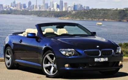 2008 BMW 6 Series Convertible 650i