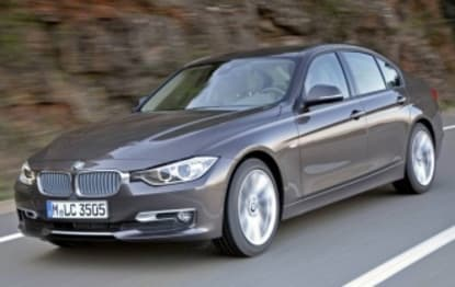 2012 BMW 3 Series Sedan 318d Luxury Line