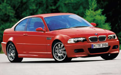 2001 BMW M Models Coupe M3