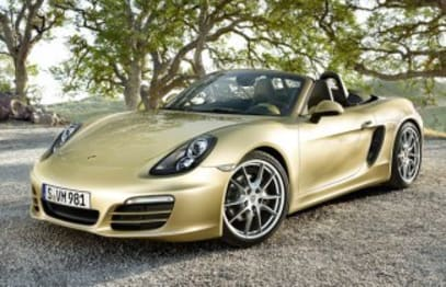 2012 Porsche Boxster Convertible (base)