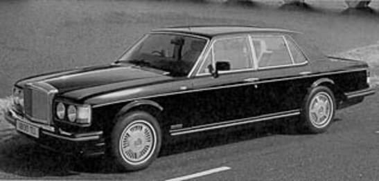 Bentley Mulsanne 1991