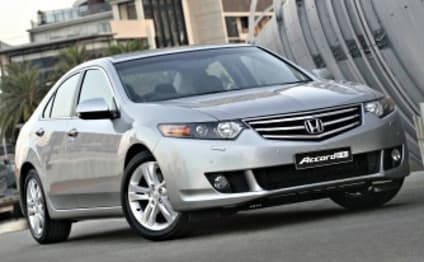 2008 Honda Accord Euro Sedan Luxury Navi
