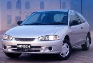 2002 Mitsubishi Mirage Hatchback (base)