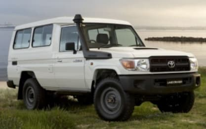 2012 Toyota Landcruiser SUV Workmate (4X4) 11 Seat