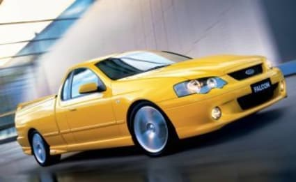 2004 Ford Falcon Ute XR6T