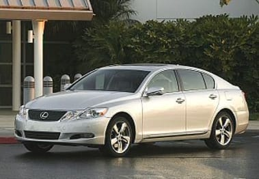 2009 Lexus GS Sedan GS460 Sport Luxury
