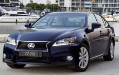 2014 Lexus GS Sedan GS250 Luxury