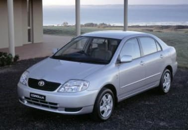 2001 Toyota Corolla Sedan Conquest