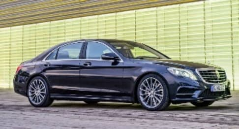 2014 Mercedes-Benz S-Class Sedan S500 L