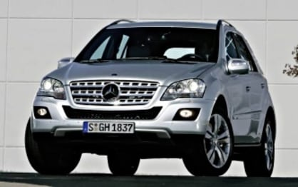 2009 Mercedes-Benz M-Class SUV ML500 Luxury (4X4)