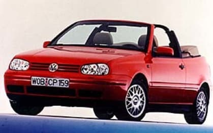 1998 Volkswagen Golf Convertible CL