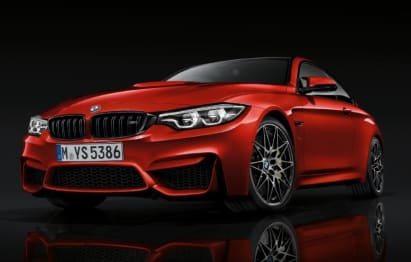 2020 BMW M Models Coupe M4 Competition