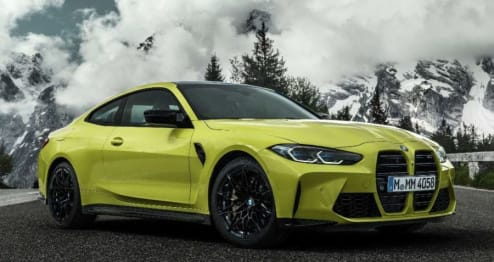 2020 BMW M Models Coupe M4