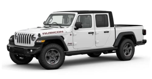 2020 Jeep Gladiator Ute Rubicon (4X4)