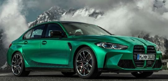 2021 BMW M Models Sedan M3 Competition