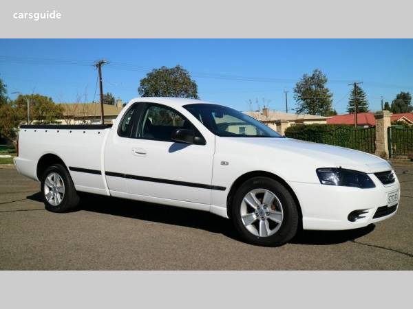 2010 FALCON UTE FG FACTORY LPG LOW KMs ford ute