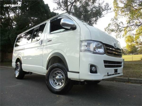Toyota Hiace 4WD for Sale | carsguide