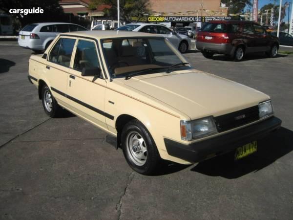 1984 Toyota Corolla CS For Sale $4,990 Manual Sedan   carsguide