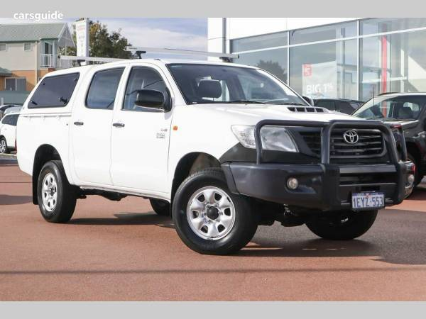 2011 Toyota Hilux Workmate (4X4) For Sale $23,990 Manual Ute