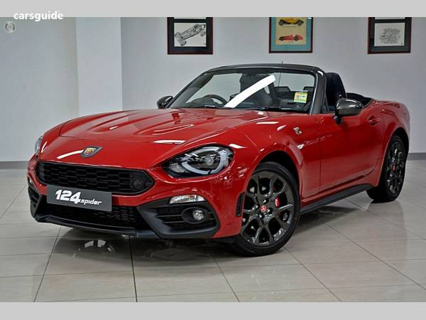 2018 Abarth 124 Spider For Sale $39,990 Manual Convertible