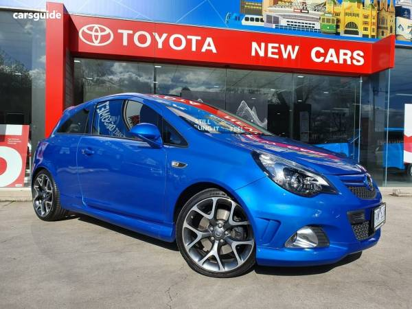 2013 Opel Corsa OPC For Sale $11,888 Manual Hatchback